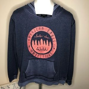 "American Eagle Outfitters ""Into The Wild"" Hoodie"